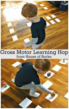 House of Burke: Gross Motor Learning Hop