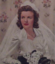 1942 1940s Wedding, Disney Characters, Fictional Characters, Disney Princess, Women, Women's, Fantasy Characters, Disney Princesses, Disney Princes