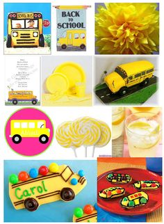 school bus party favors | Party Invitations, Party Planning & Event Ideas