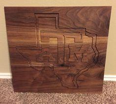 Custom engraved sign. #wacowoodworks #walnut #madeintexas #madeinwaco #wacomade #texasmade #woodworking #woodwork #xcarve #inventables #texasam #texasaggies