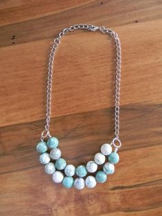 DIY Tutorial: DIY Statement Jewelry / DIY Make Your Own...DIY Beaded Necklace - Bead&Cord