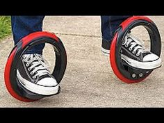 7 Futuristic Methods of Transport These new and cool tech gadgets and futuristic methods of transport are totally amazing and crazy! Cafe Racers, Cool Tech Gadgets, Great Inventions, Scooter Girl, Small Cars, The Office, Chuck Taylor Sneakers, Parks, 3d Printing