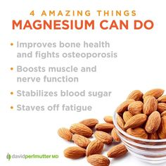 Magnesium does more than just fight inflammation. How do you get your daily dose?