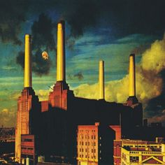 Pink Floyd - Animals album cover by Storm Thorgerson Storm Thorgerson, Iconic Album Covers, Rock Album Covers, Art Pink Floyd, Heavy Metal, Rock And Roll, Classic Rock Albums, Pink Floyd Albums, Battersea Power Station