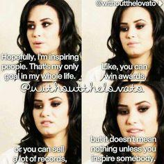@Demi Bredefeld Bredefeld Lovato you have inspired me:)!