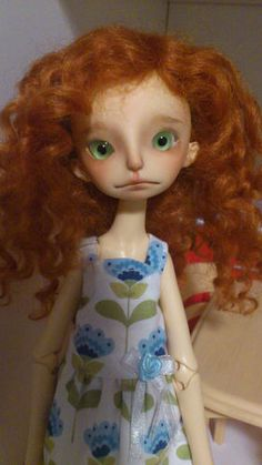 Hilary Doll Chateau BJD faceup by Esthy yosd 1/6 | eBay
