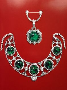 Aderezo de esmeraldas de la princesa Bibescu