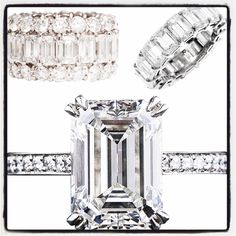 Perfect Diamond Bands & Engagement Rings. Check out 3 Hearts Boutique on Facebook Instagram Twitter & website