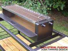 Fire Pit Grill, Bbq Grill, Barbecue, Smoker Cooker, Rocket Stoves, Outdoor Stove, Backyard Bar, Outdoor Cooking, Outdoor Kitchens
