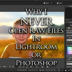 Lightroom and Photoshop are not the best propgrams to open a RAW file in. Raw Photography, Photography Basics, Photoshop Photography, Photography Tutorials, Creative Photography, Photography Lessons, Photography Software, Canon Photography, Mobile Photography