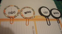 Halloween Paper Clips using Stampin UP