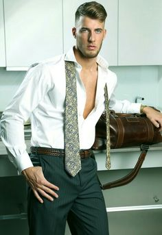 "Will Iden in Men At Play's ""The Bachelor"" Costume Sexy, Man Shed, Play S, Mature Men, Older Men, Mens Suits, Sexy Men, Hot Guys, Mens Fashion"