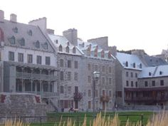 Historic waterfront, Quebec City (photo by C.L. Dyck)