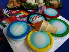 Olympic cake kellens birthday