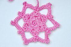 """December 15 * Crochet Star """"Adelheid"""""""