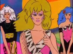 Jem and the Holograms/The Misfits Click Clash Music Video
