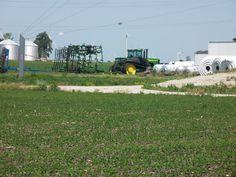 John Deere  track tractor