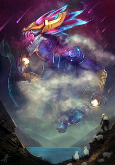 Aurelion Sol community creations | League of Legends