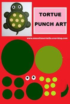 punch art   tortue/tortle/punch art/ kitty/gif/mariage/halloween/naissance ...
