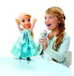 Disney Reine Des Neiges - 31078 - Poupée Chante Avec Elsa