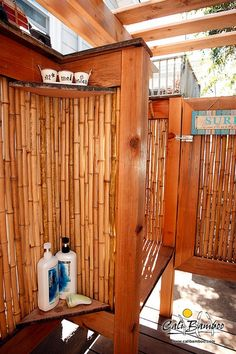 Outdoor Shower Ideas - DIY Projects | Cali Bamboo Fencing
