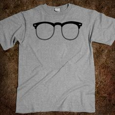 The Clubmaster (Grey) from American Apparel on Wittlebee http://wittlebee.com/oo/black-clubmaster-shirt-gray/american-apparel/