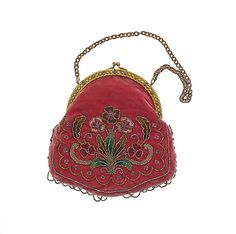 Purse  Date: ca. 1911 Culture: French (probably) Medium: silk, metal