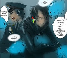 Google Chrome and Twitter, Interned Humanizated Part 6