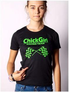 T-shirt sportowy ChickGirl Racing Team