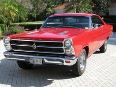 1966 Ford Fairlane for sale - Hemmings Motor News Ford Classic Cars, Best Classic Cars, Best Muscle Cars, American Muscle Cars, Lincoln Mercury, Ford Fairlane, Vintage Trucks, Collector Cars, Old Cars