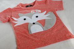 Fox shirt. Love the colors. #kids #fox