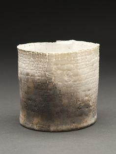 Deirdre Hawthorne    January Ash  , 2011 Glazed and saggar fired porcelain 3.5 x 3.75 inches / 8.9 x 9.5 cm / DH 24