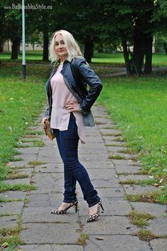 Babooshka Style - Blog modowy: Róż, khaki i pan(t)cerka