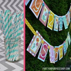 Under the Sea Birthday Party Decorations by PartyOnPurposeShop