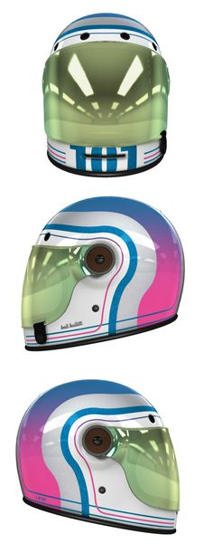 7fe11e60 Custom Bell Bullitt Motorcycle Helmet Design at Helmade Motorcycle Helmet  Design, Cafe Racer Helmet,