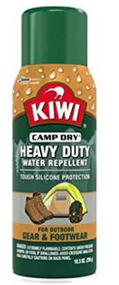 Sara Lee Household and Beverage Kiwi Camp Dry Heavy Duty Water Repellent, Waterproof Spray for Shoes