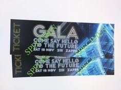 Inkomtickets Gala, uitnodigingen als tickets Say Hello, Ticket, Sayings, Books, Libros, Lyrics, Book, Book Illustrations, Quotations