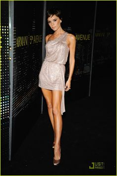 Victoria Beckham. Fantastically thin, stylish, a mother, and a diva.  Yes!