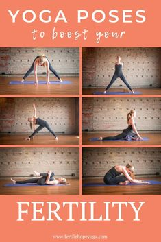 Find out how to boost your fertility when TTC with these yoga poses and prepare your body for pregnancy. A natural fertility treatment supporting you on your infertility journey with yoga exercises for pregnancy and fertility. Fertility Yoga, Natural Fertility, Fertility Diet, Boost Fertility Naturally, Fertility Smoothie, Fertility Doctor, Yoga For Infertility, Yoga For Pcos, Hormon Yoga