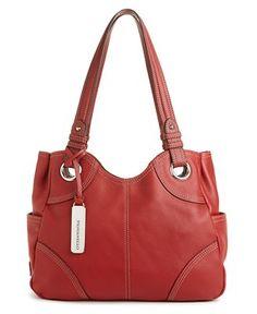 Tignanello bag-have it in plum and orange