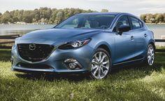 2015 Mazda 3 2.5L Manual Hatchback (more expensive model) -- Zero to 60 mph: 7.3 sec, Braking, 70-0 mph: 182 ft