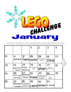 daily building challenges for january 2014