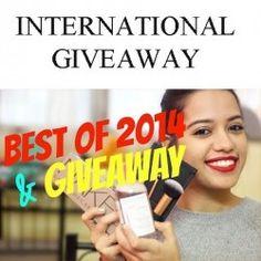 Best Products of 2014 + INTERNATIONAL GIVEAWAY (OPEN) ^_^ http://www.pintalabios.info/en/youtube-giveaways/view/en/162 #International #MakeUp #bbloggers #Giweaway
