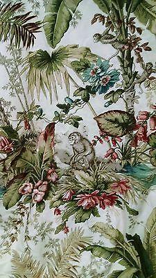 P Kaufmann Rainforest Monkeys Curtains Fabric (2)