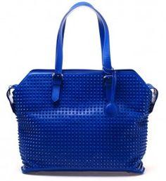 Christian Louboutin Syd Spike Studded Leather Bag | UpscaleHype