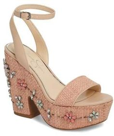 Jessica Simpson Cressia Platform Sandal (Women)  c8eec0bbf7aa