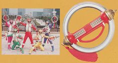 Weapons/Gear - Gosei Sentai Dairanger | Super Sentai Central