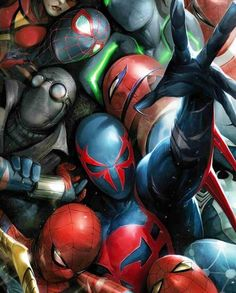 The Spider-verse artwork by Francesco Mattina! What's your favorite version of Spider-Man? #spiderman #peterparker #webhead #webslinger #avengers #avenger #venom #symbiote #amazingspiderman #epic #epiccomicpics #dope #sick #geek #nerd #art #comicbooks #comics #comic #comicbook #comix #superheroes #superhero #marvel #marvelheroes #marveluniverse #marvelcomics #marvel ------------------------------------------- CLICK LINK IN MY BIO To Check Out Some EPIC Geek Items! by marvelcomicsrealm