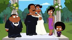 The Cleveland Show wedding