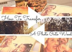 Simple Way to Transfer Photo on Wood | Young Craze